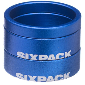 "Sixpack Menace Spacer 1 1/8"" blue"